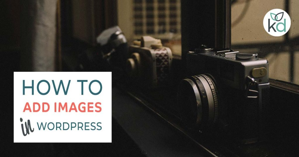 How to add images to WordPress