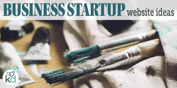 Business startup website ideas