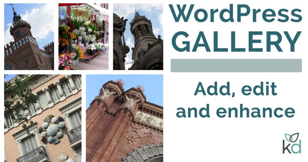 WordPress gallery - add, edit and enhance
