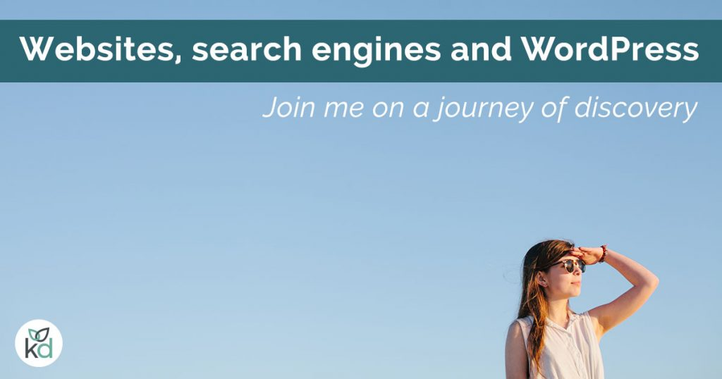 Websites, search engines and WordPress